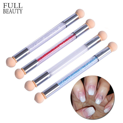 Double Gradient Sponge Nail Brush