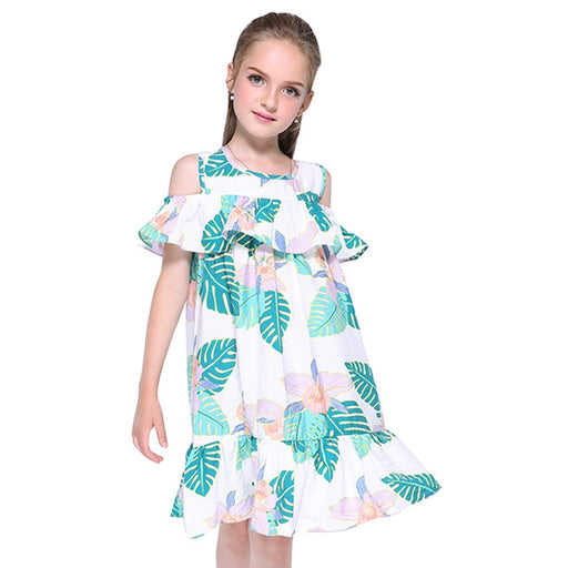 Ruffle Dress - For Kids