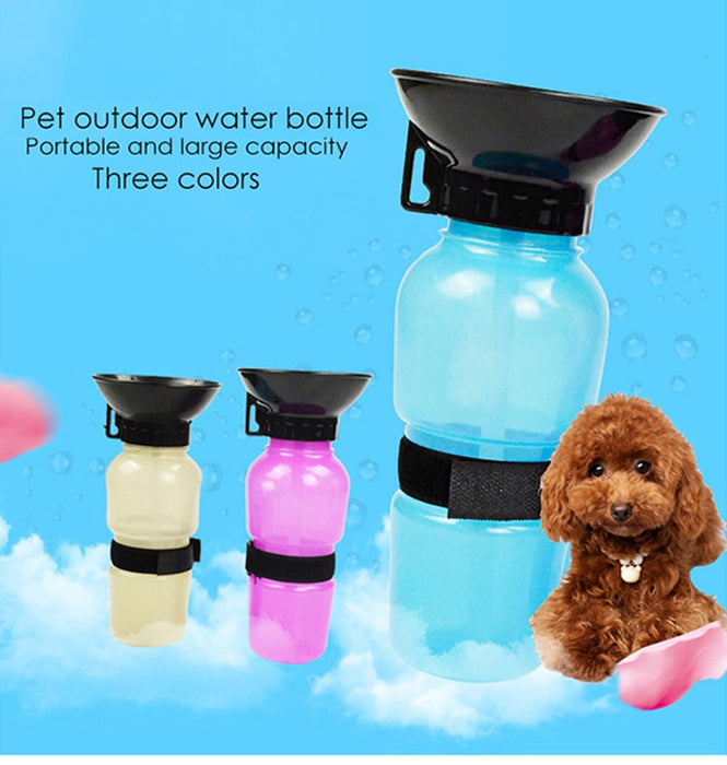 Portable Dog Water Bottle 500ml