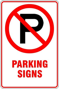 Parking Signs and Stickers