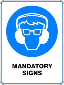 Mandatory Signs and Stickers