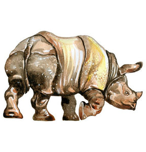 Rhino Wall Sticker