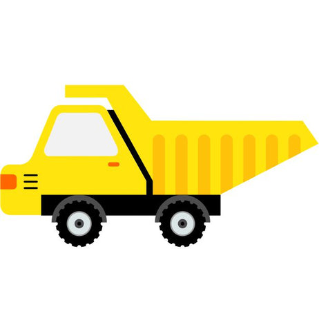 Tip Truck Kids Construction Wall Sticker