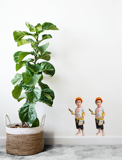 Mini-Bod Photo Cutout Wall Sticker by Sticky Bods 240mm x 400mm (set of 2)