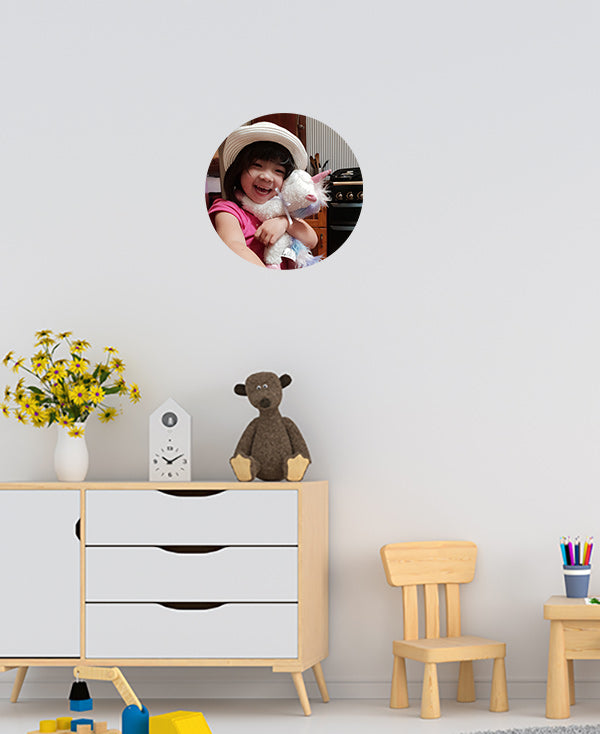 Large Photo Dot Wall Sticker by Sticky Bods (35cm)