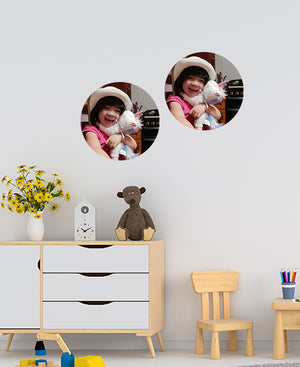 Photo Dot Wall Stickers by Sticky Bods (Set of 2 Large)