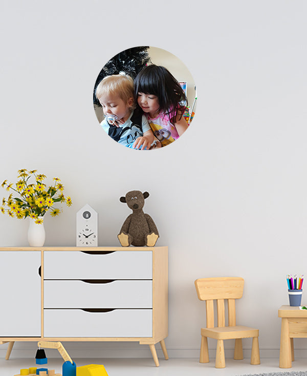 XL Photo Dot Wall Sticker by Sticky Bods (45cm)