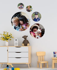 Photo Dot Wall Stickers Set of 5 (XL, L, M, Sx2)