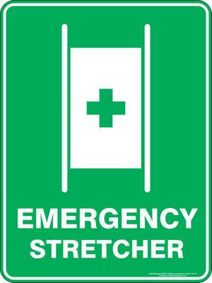 Emergency Sign - Emergency Stretcher