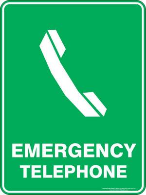 Emergency Sign - Emergency Telephone