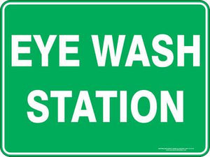Emergency Sign - Eye Wash Station