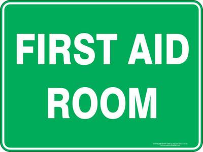 Emergency Sign - First Aid Room