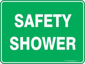Emergency Sign - Safety Shower