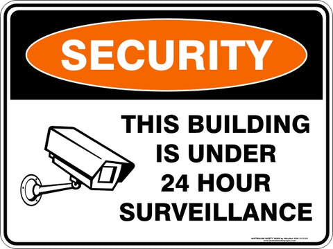 Security Sign - This Building Under Surveillance