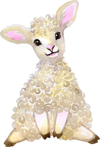 Baby Lamb Wall Sticker