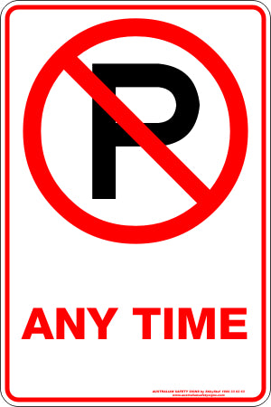 Parking Sign - Any Time
