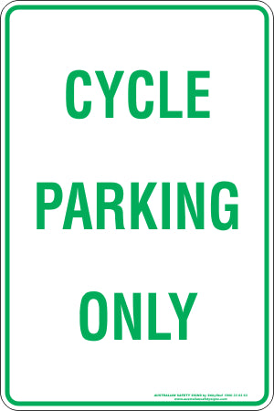Parking Sign - Cycle Parking Only