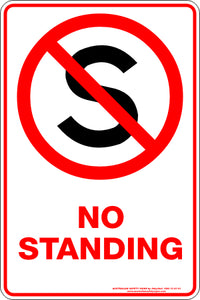Parking Sign - No Standing