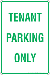 Parking Sign - Tenant Parking Only
