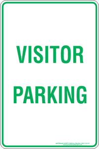Parking Sign - Visitor Parking