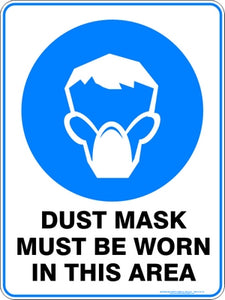 Mandatory Sign - Dust Mask