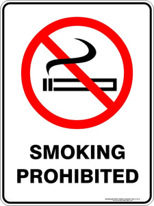 Prohibition Sign - Smoking Prohibited