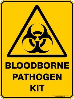 Warning Sign - Bloodborne Pathogen