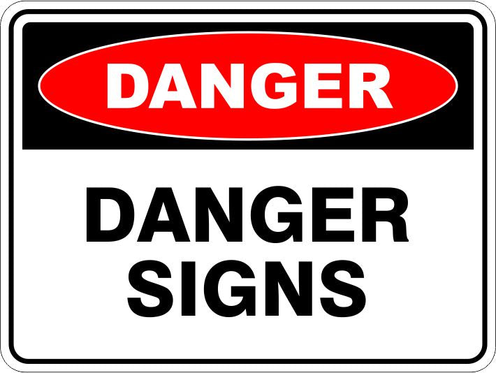 Danger Signs & Stickers