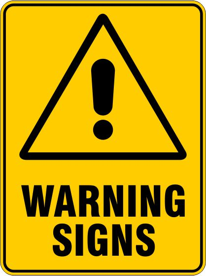 Warning Signs & Stickers