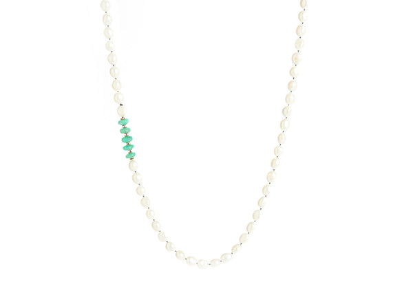 Pearl & Jade Necklace