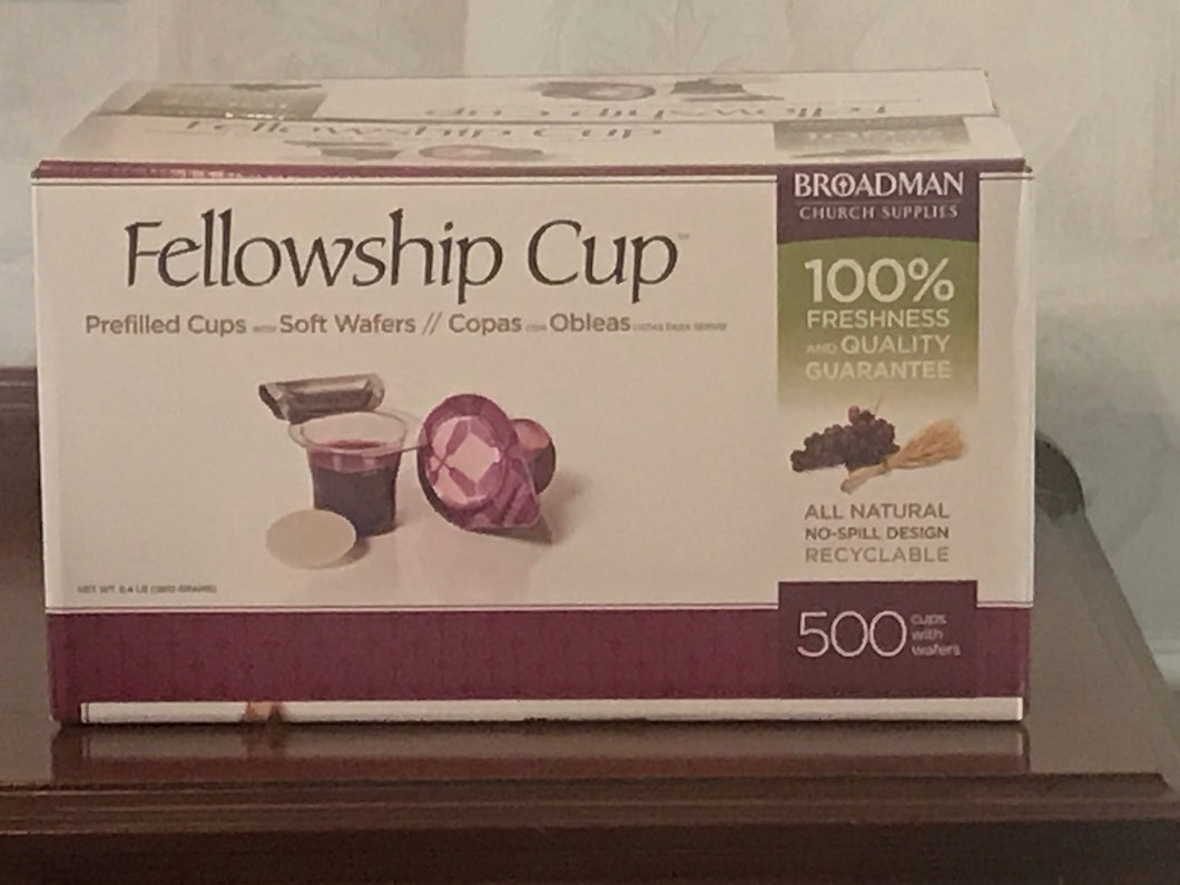 Fellowship Cups