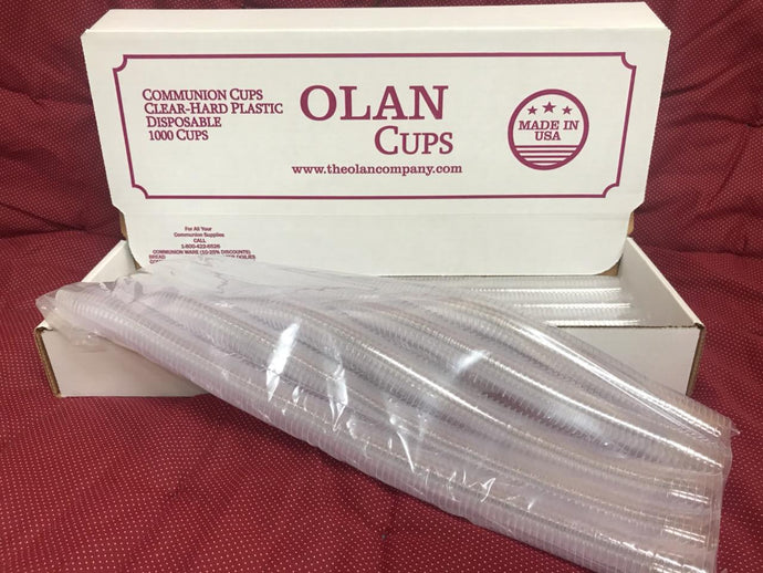 Box of 1,000 Olan Cups