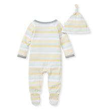 Yellow & Green Striped Coming Home Set from Bert's Bees Baby (100% Organic Cotton))