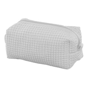 Waffle Weave Small Makeup Case