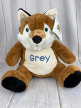 "Cuddle Pals  - 16"" Fox with Name"