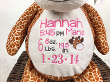 "Cuddle Pals with Name - 16"" Giraffe"