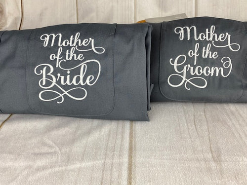 Grey Mother of the Bride or Groom - Get Ready Shirts