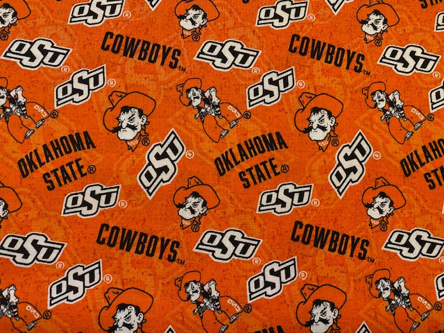 Oklahoma State Cowboys Fabric