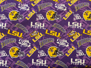 LSU Tigers Fabric