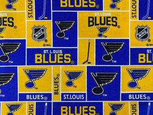 St. Louis Blues Fabric