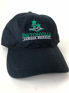 Black Nike Unstructured Twill  Hat w/Pattonville Logo