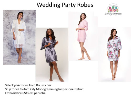 Wedding Party Robes