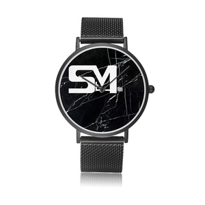 stevie signature StM watch colab with Citizen (black face)