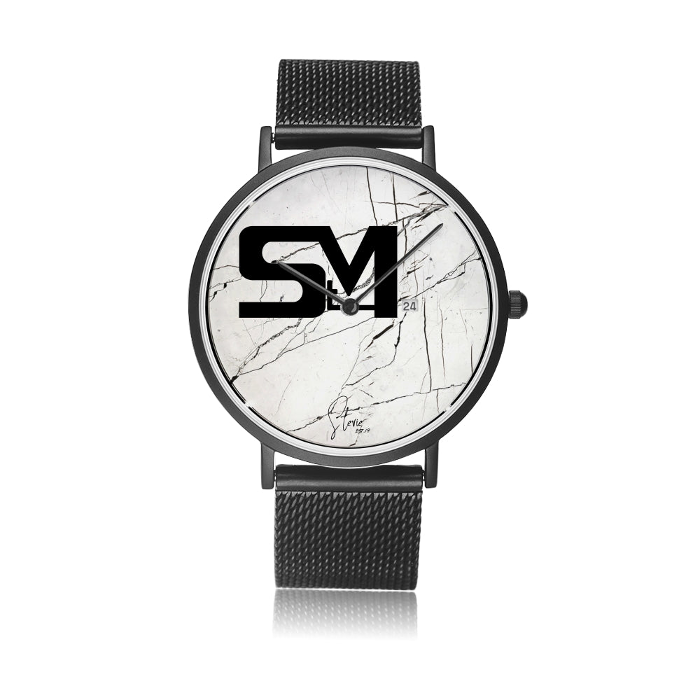 stevie signature StM watch colab with Citizen (white face)