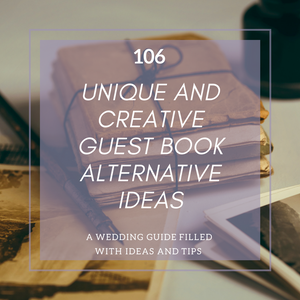 106 Unique And Creative Guest Book Alternative Ideas – Wedding ...