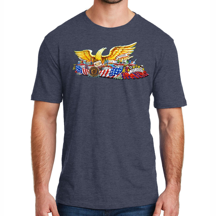 The American Legion 100 Year Float Mens Tee - Navy