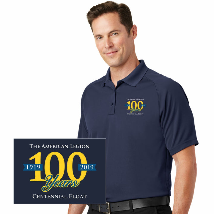 The American Legion 100 Year Float Mens Polo - Navy