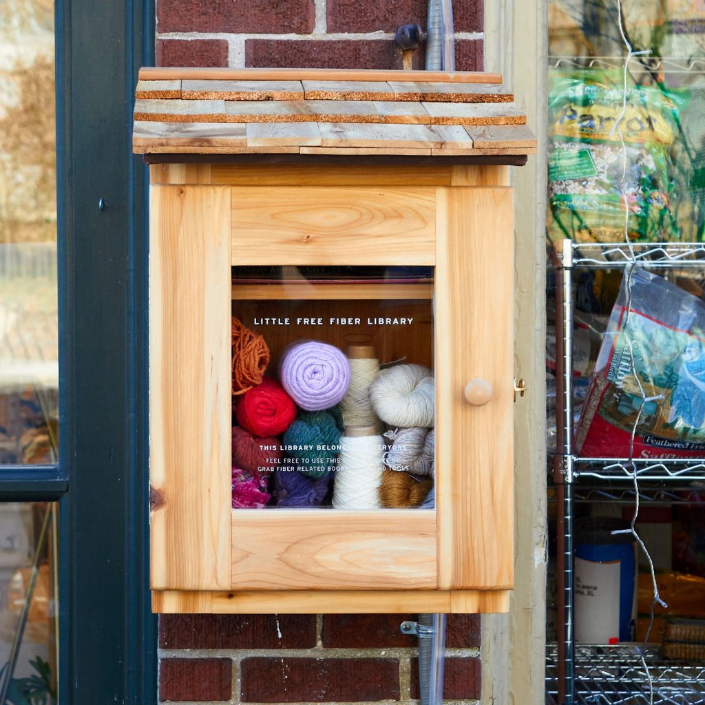 LITTLE FREE FIBER LIBRARY