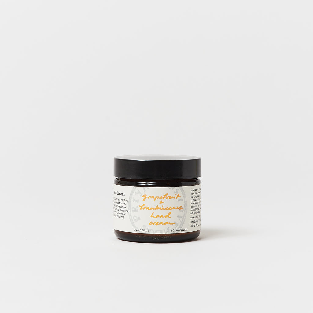 Grapefruit & Frankincense Hand Cream