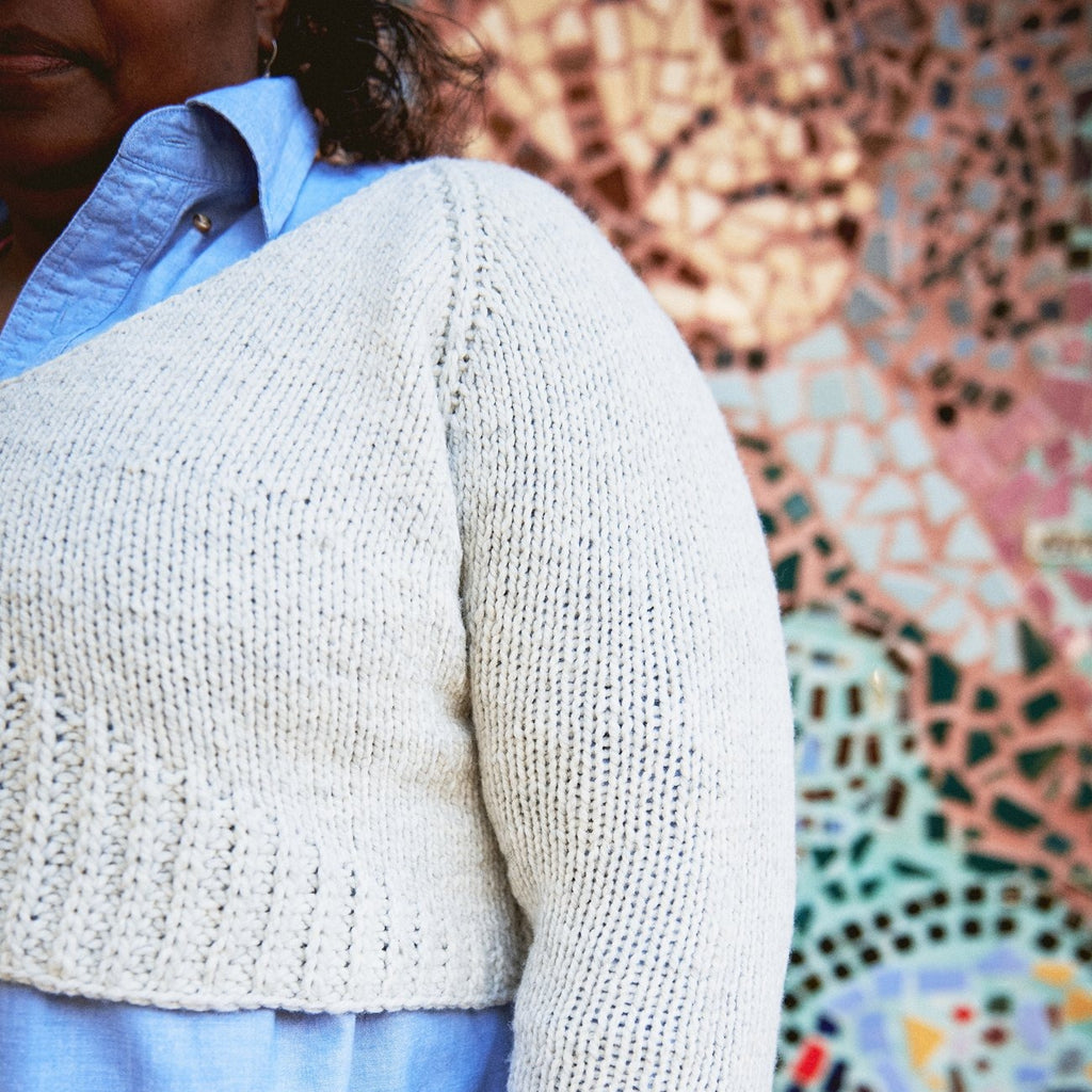 ::virtual:: Beyond Basics Knit Sweater - URSA + URSINA